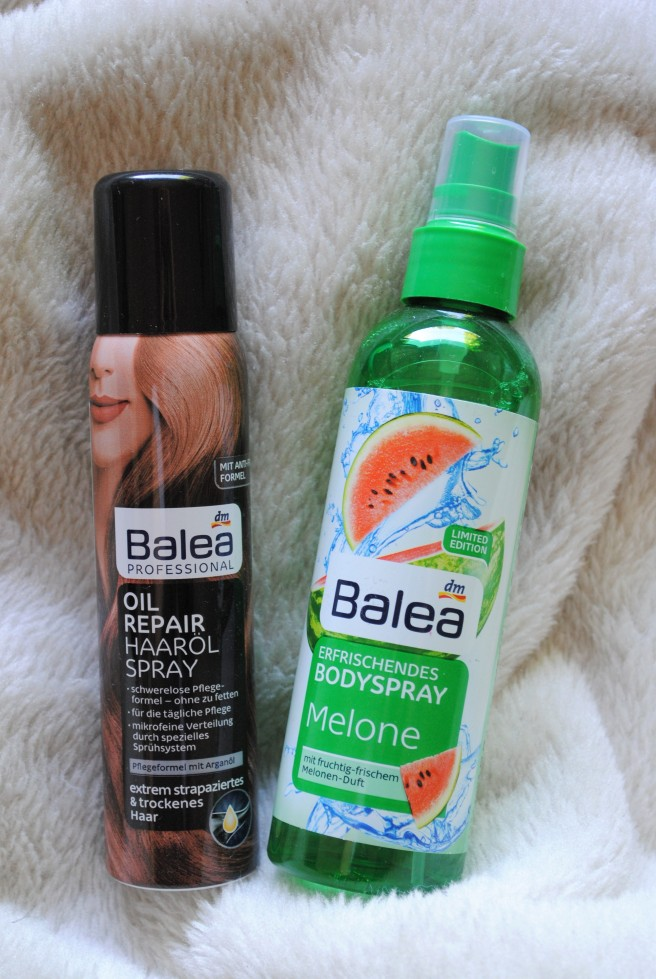 balea oil repair spray balea bodyspray