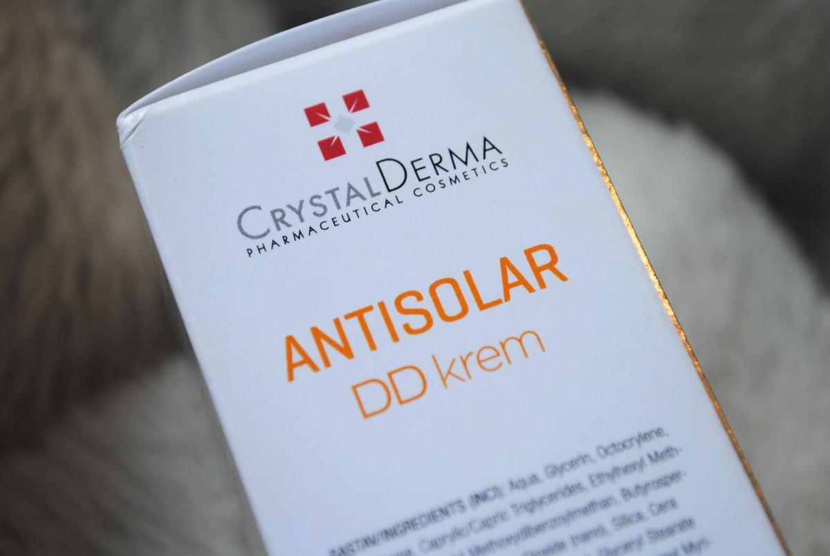 Recenzija: Crystal Derma Antisolar DD krem