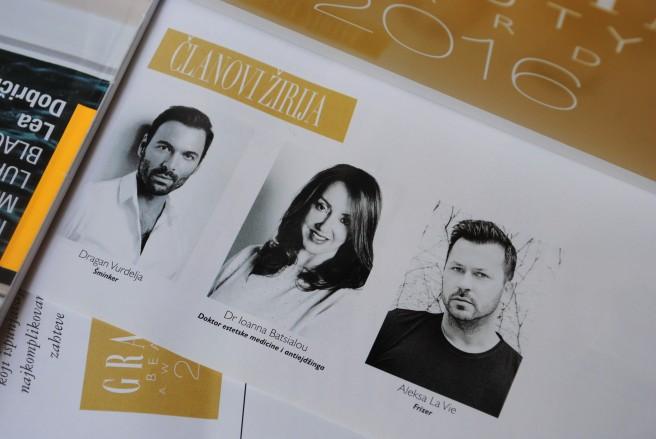 grazia beauty awards 2016