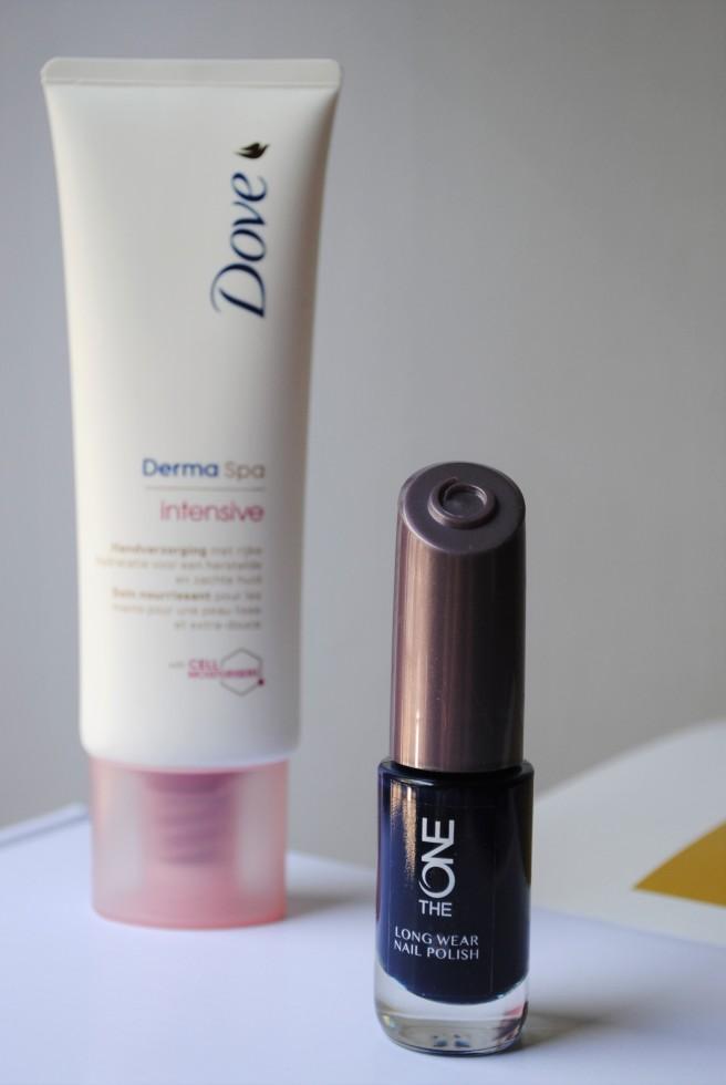 grazia beauty box dove dermaspa oriflame