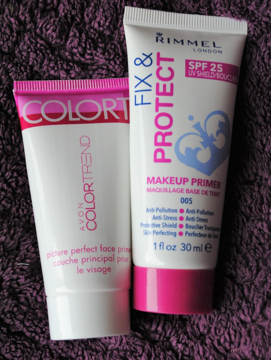 Dueti #2: Prajmeri (Avon Color Trend, Rimmel Fix & Protect)