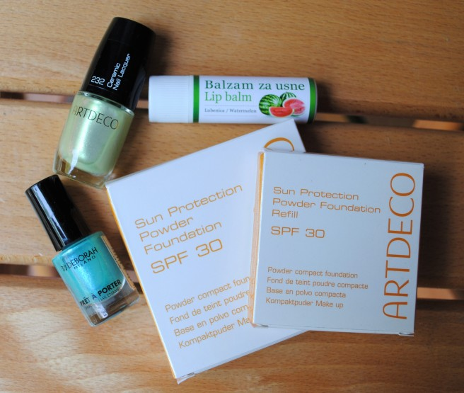 artdeco sun protection powder foundation spf 30