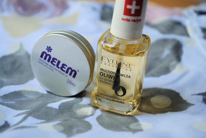 nega zanoktica melem eveline cosmetics ulje