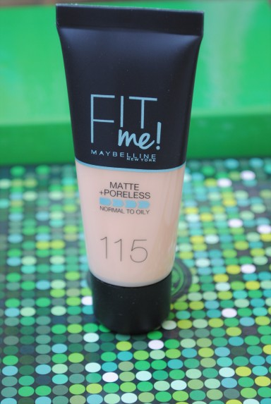 glambox maybelline fit me matte and poreless puder 115