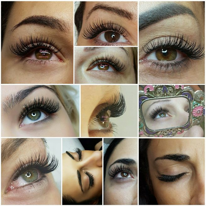 svilene trepavice Di lashes and nails