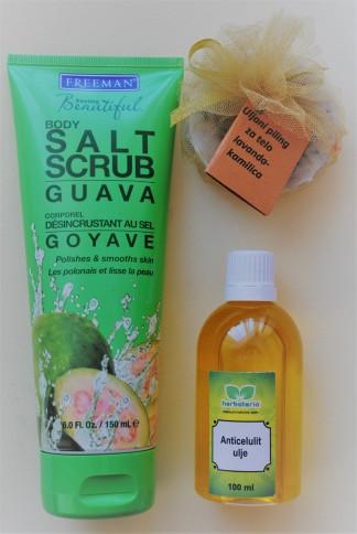 freeman salt scrub guava piling za telo
