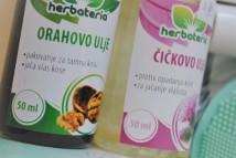 herbateria orahovo i čičkovo ulje