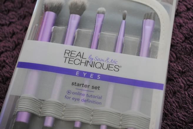 real techniques eyes starter set četkica