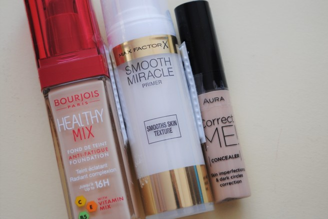 bourjois puder, max factor smooth miracle primer