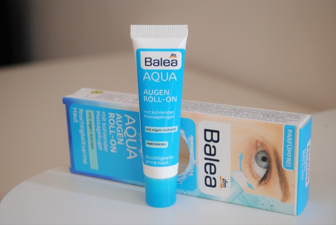 balea aqua augen roll on review