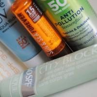 Grupna mini-recenzija: proizvodi za lice sa SPF-om 🌞 (Sun Dance, Biobaza, Biore...)