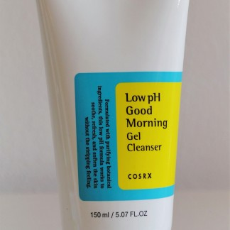 cosrx good morning low ph gel cleanser