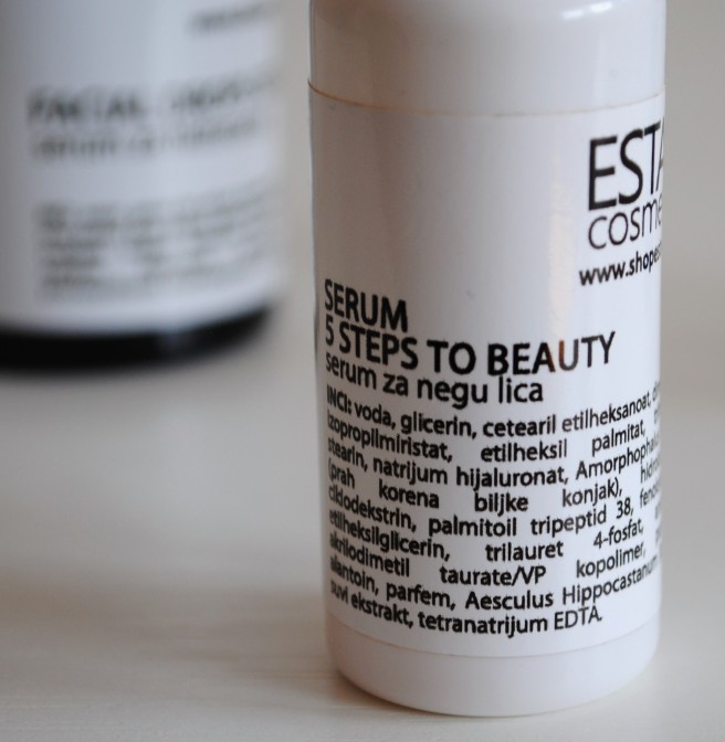 estar serum 5 steps to beauty