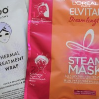 Dueti #6: Termalni tretmani za kosu (L'oreal Paris Elvital Steam Mask, IKOO Infusions thermal treatment wrap)