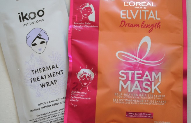 L'oreal Paris Steam Mask, ikoo thermal treatment wrap
