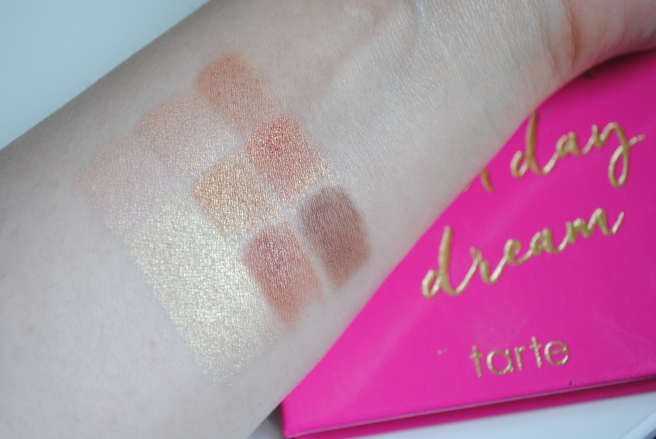 tarte don't quit your daydream swatches